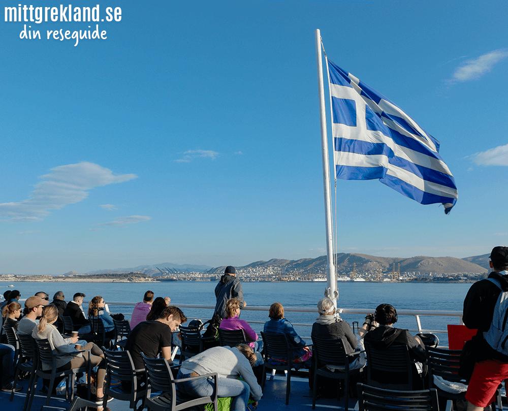 Boka färja Grekland