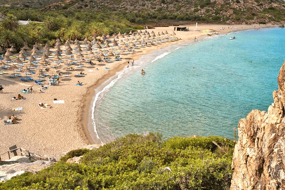 Kreta, Sitia, Vai Beach.