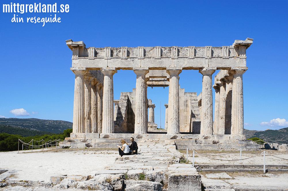 Afeas tempel på Egina