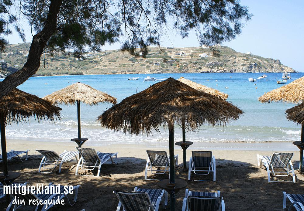 Kini Beach på Syros