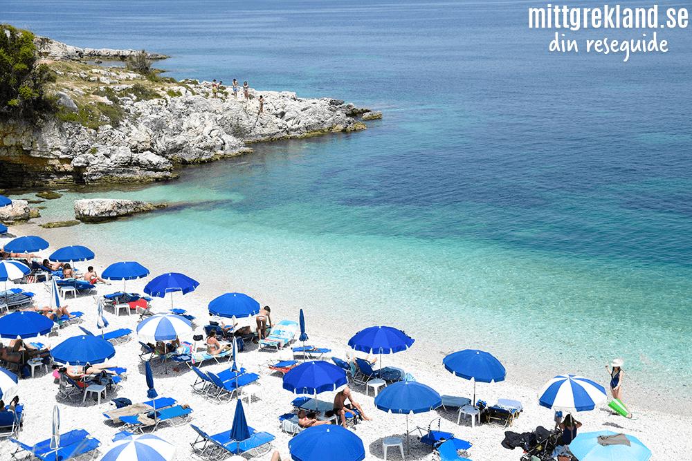 Strand på Korfu