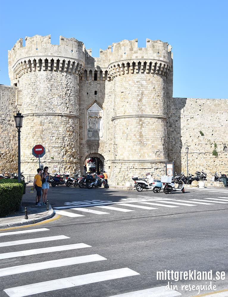 Rhodos gamla stad